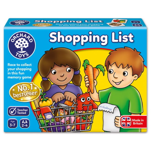 Shopping List Game Time Out Toys