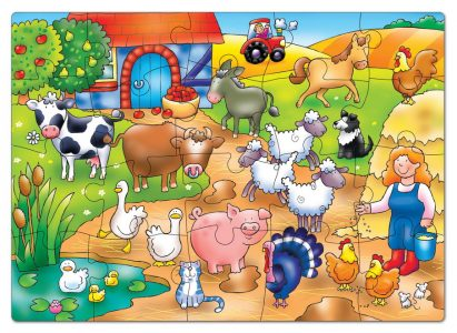 Who's On The Farm Puzzle