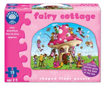 Fairy Cottage Floor Puzzle