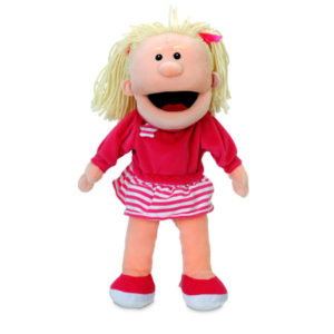 Girl Moving Mouth Puppet