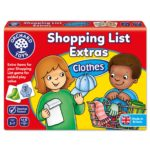 Shopping List Extras Clothes Game