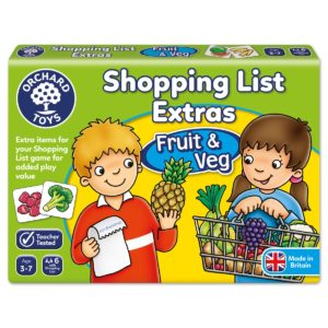 Shopping List Game Extras Fruit and Veg