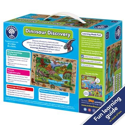 Dinosaur Discovery back of box