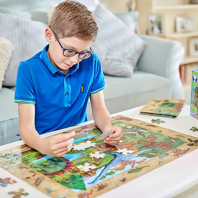 Dinosaur Discovery puzzle lifestyle
