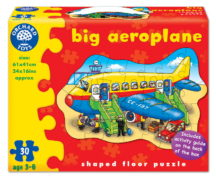 Big Aeroplane Floor Puzzle