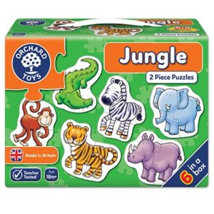 Jungle 2 piece puzzle