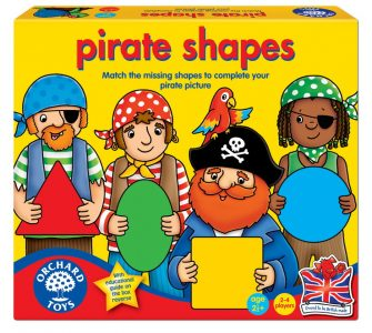 Pirate Shapes Game
