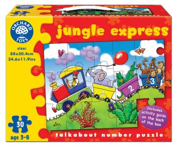 Jungle Express Puzzle