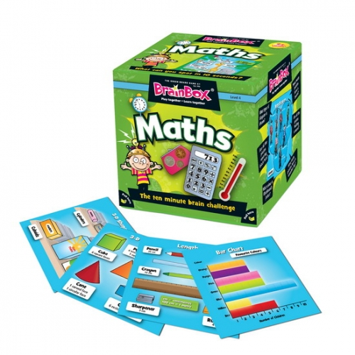 BrainBox Maths box and contents1