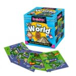 BrainBox World box and cards NEW1