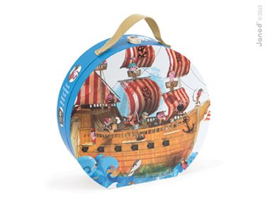 Janod Pirate Ship Puzzle