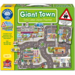Giant Town Floor Puzzle