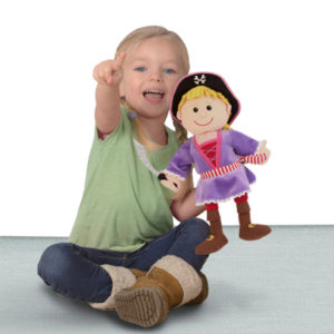 Pirate Girl Hand Puppet