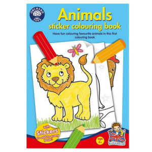 Animals Sticker Colouring Book