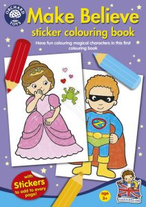 Make Believe Sticker Colouring Book
