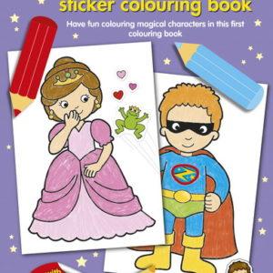 Make Believe Sticker Colouring Book