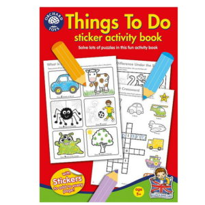Things to Do Sticker Book