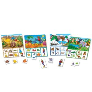 Where Do I Live Game Contents