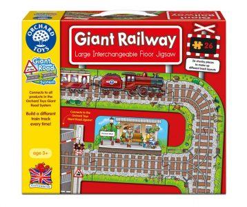 Giant Railway Puzzle