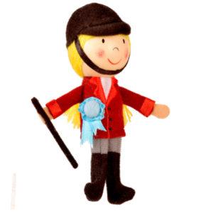 Horse Rider Finger Puppet