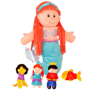 Little Mermaid hand puppet set