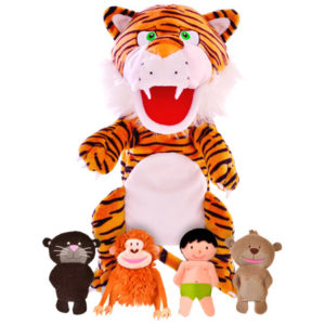 Jungle Book Hand & Finger Puppet Set