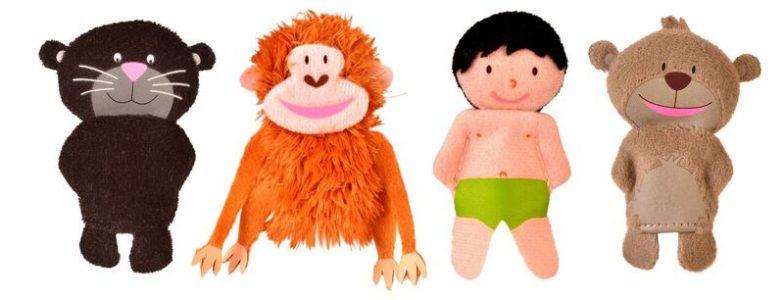 Jungle Book Finger Puppets