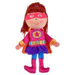 Girl Hero Finger Puppet