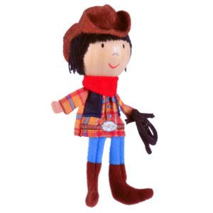 Cowboy Finger Puppet