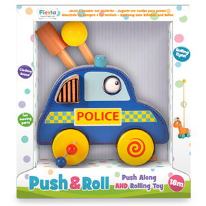 Police Car Push n Roll