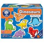 Dinosaur 2 piece puzzle (1)