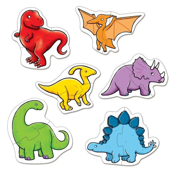 Dinosaur 2 piece puzzle (2)