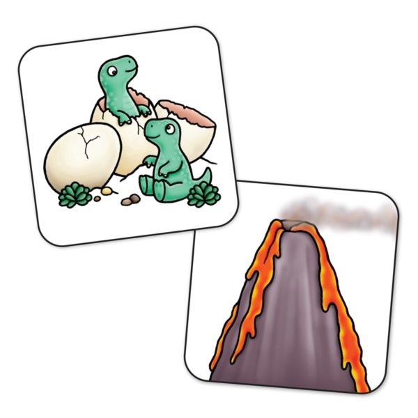 Dinosaur Lotto Cards