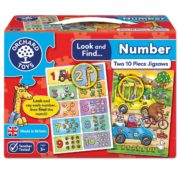 Look and Find Number Jigsaw