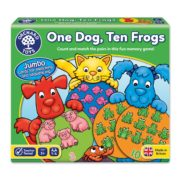 One Dog Ten Frogs Game