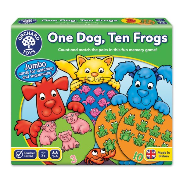 One Dog Ten Frogs (1)
