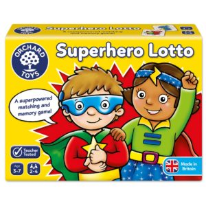 Superhero Lotto