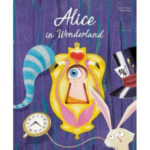 alice in wonderland die cut reading