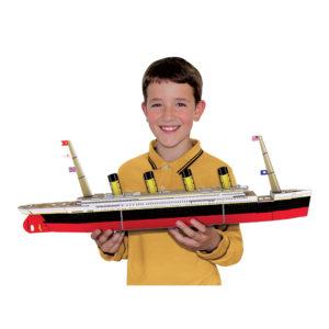 Sassi Build the Titanic 3D