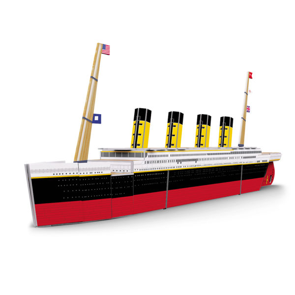 Build the Titanic 3D model1