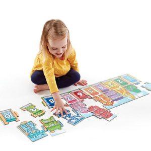 Number Street Floor Puzzle