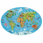 Endangered species of the planet puzzle
