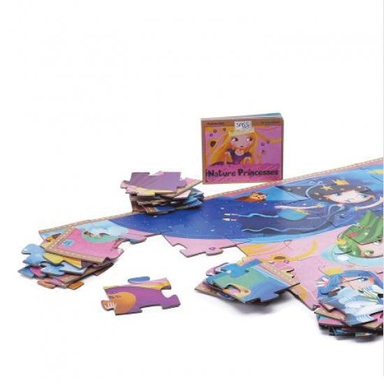 Nature princesses puzzle layout