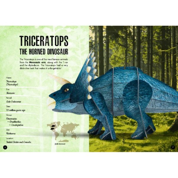 The 3D Triceratops model