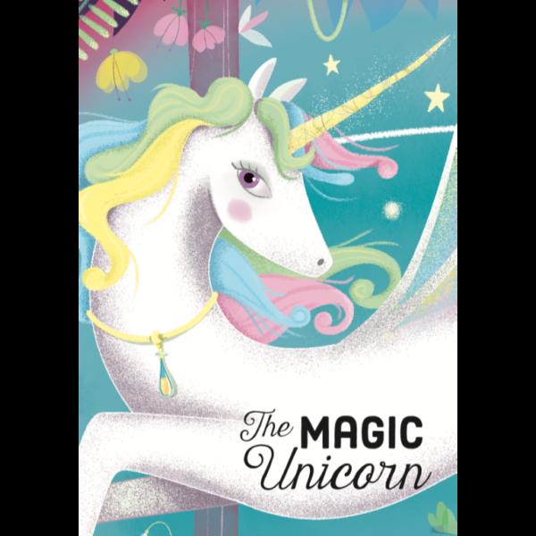 Unicorn puzzle book