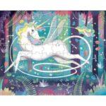 Unicorn puzzle layout
