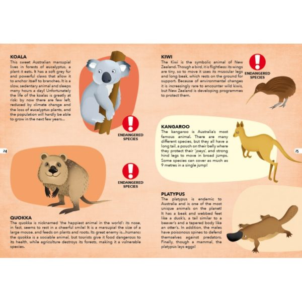 endangered species of the planet book2