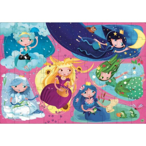 nature princesses puzzle1
