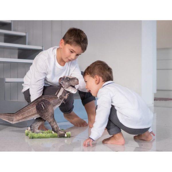 the 3D T-Rex lifestyle