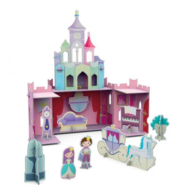 the princes castle 3d layout